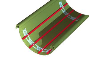 Монтажная лента для греющего кабеля купить монтажную
